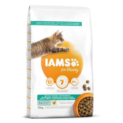 IAMS for Vitality Light in Fat Adult Fresh Chicken Dry Cat Food