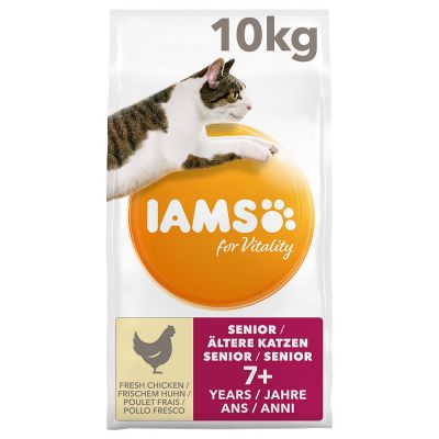 IAMS for Vitality Senior Fresh Chicken Dry Cat Food