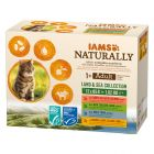 IAMS Naturally Adult Cat Mix di Terra e Mare