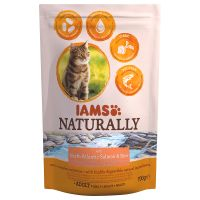 IAMS Naturally Adult, saumon pour chat