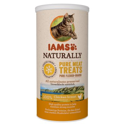 IAMS Naturally Cat 100% Meat