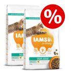 IAMS pienso para gatos 2 x 10 / 15 kg - Pack Ahorro