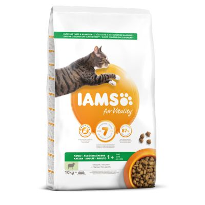 IAMS Pro Active Health Adult agneau, poulet pour chat