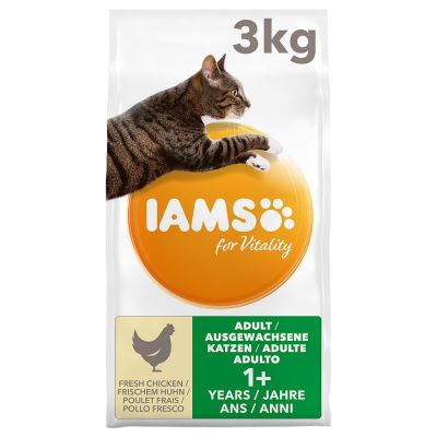 IAMS Pro Active Health Adult Riche en poulet pour chat