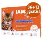 IAMS sobres 48 x 85 g en oferta: 36 + 12 ¡gratis!