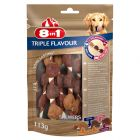 8in1 Triple Flavour Skewers Kauwrollen