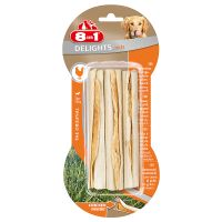 8-in-1 Delights Chicken Dog Chews