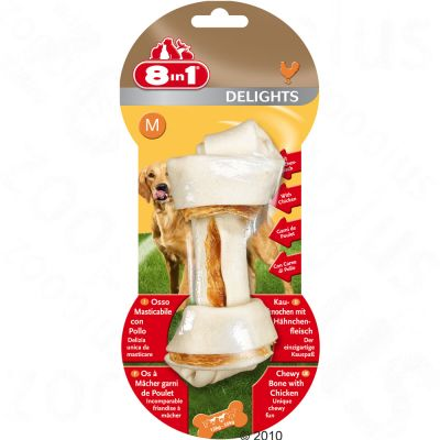 8in1 Delights kość do żucia z kurczakiem