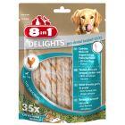 8in1 Delights Pro Dental Twisted tyčinky, kuřecí