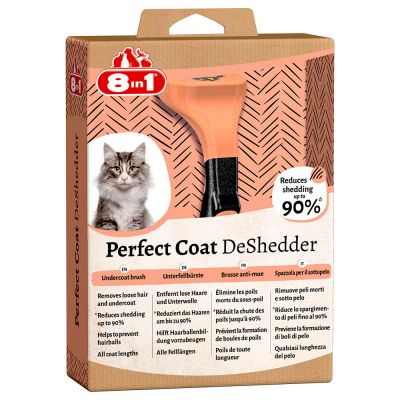 8in1 Perfect Coat DeShedder per gatti