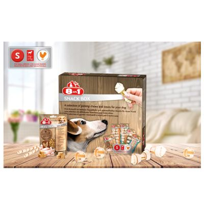 8in1 Snackbox hundegodbidder