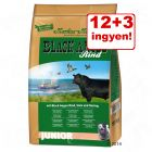 12 + 3 ingyen! 15 kg Black Angus Junior