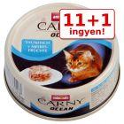 11 + 1 ingyen! 12 x 80 g Animonda Carny Ocean