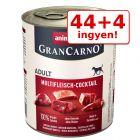 44 + 4 ingyen! 48 x 800 g Animonda GranCarno Original Adult