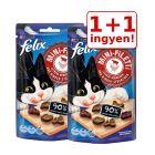 1+1 ingyen! 2 x 40 g Felix Mini Filetti