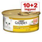 10 + 2 ingyen! 12 x 85 g Gourmet Gold