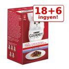 18 + 6 ingyen! 24 x 50 g Gourmet Mon Petit