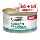 34 + 14 ingyen! 48 x 85 g Gourmet Nature's Creations