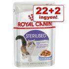 22 + 2 ingyen! 24 x 85 g Royal Canin nedves macskatáp