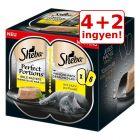 4 + 2 ingyen! 6 x 37,5 g Sheba Perfect Portions