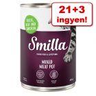 21 + 3 ingyen! 24 x 400 g Smilla multi-hústál