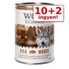 10 + 2 ingyen! 12 x 400 g Wolf of Wilderness