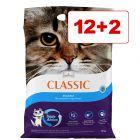 Intersand Classic -kissanhiekka 14 kg: 12 + 2 kg kaupan päälle!