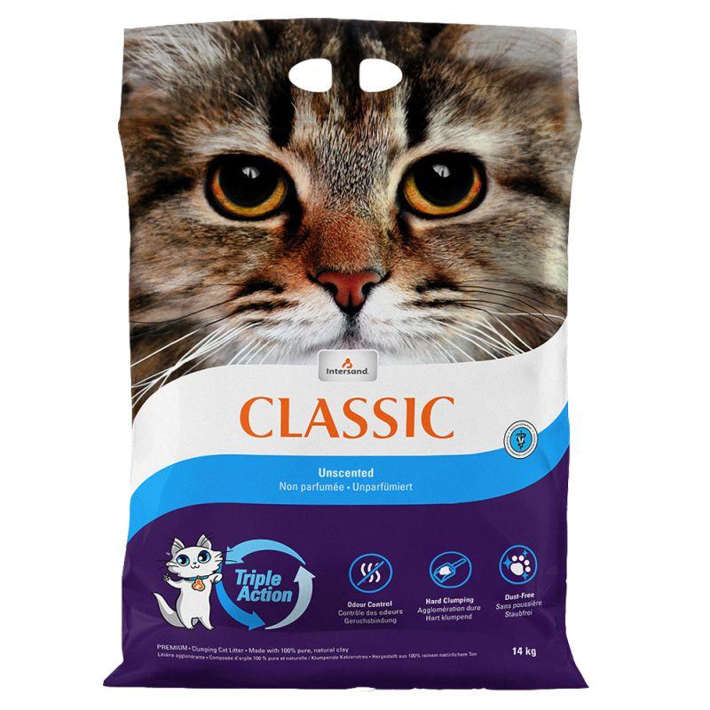 Intersand Classic Unscented Cat Litter