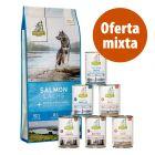 Isegrim Adult 12 kg pienso + 6 x 400 g comida húmeda - Pack mixto