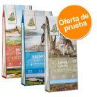 Isegrim Adult 3 x 3 kg - Pack de prueba mixto