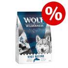 """Isprobajte, sniženo! 1 kg Wolf of Wilderness """"Elements""""!"""