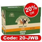 James Wellbeloved Adult Cat Pouches - Turkey