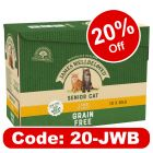 James Wellbeloved Senior Cat Pouches - Lamb