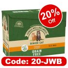 James Wellbeloved Senior Cat Pouches - Turkey
