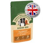 James Wellbeloved Senior Pouches – Turkey with Rice