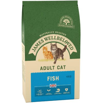 James Wellbeloved Adult Cat - Fish