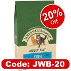 James Wellbeloved Adult Cat - Fish