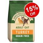 James Wellbeloved Adult Cat Grain-Free Turkey - 15% Off!*