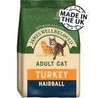 James Wellbeloved Adult Cat Hairball - Turkey