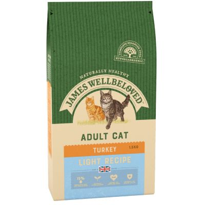 James Wellbeloved Adult Cat Light - Turkey
