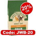 James Wellbeloved Adult Cat No Cereal - Turkey