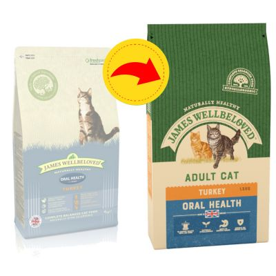 James Wellbeloved Adult Cat Oral Health - Turkey