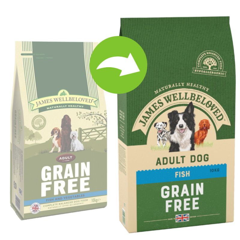 James Wellbeloved Adult Grain-Free - Fish & Vegetable