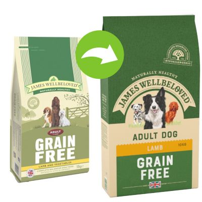 James Wellbeloved Adult Grain-Free - Lamb & Vegetable