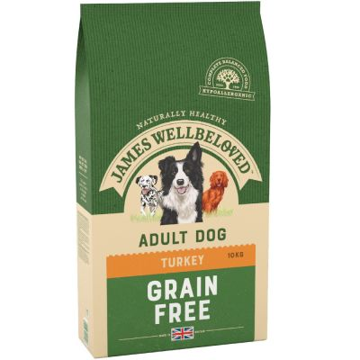 James Wellbeloved Adult Grain-Free - Turkey & Vegetable