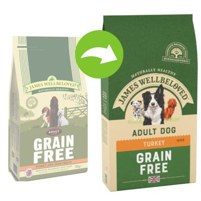 James Wellbeloved Adult Grain-Free - Turkey & Vegetables