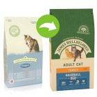 James Wellbeloved Adult Hairball dinde, riz pour chat