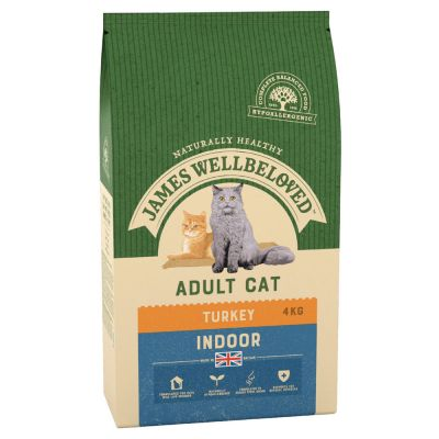 James Wellbeloved Adult Indoor Pavo y arroz