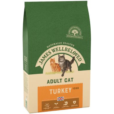James Wellbeloved Adult -  Kalkoen Kattenvoer