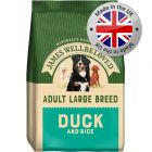 James Wellbeloved Adult Large Breed - Duck & Rice